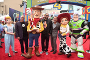 (L-R) Producer Mark Nielsen, director Josh Cooley, and producer Jonas Rivera attend the world premiere of Disney and Pixar's TOY STORY 4 at the El Capitan Theatre in Hollywood, CA on Tuesday, June 11, 2019.