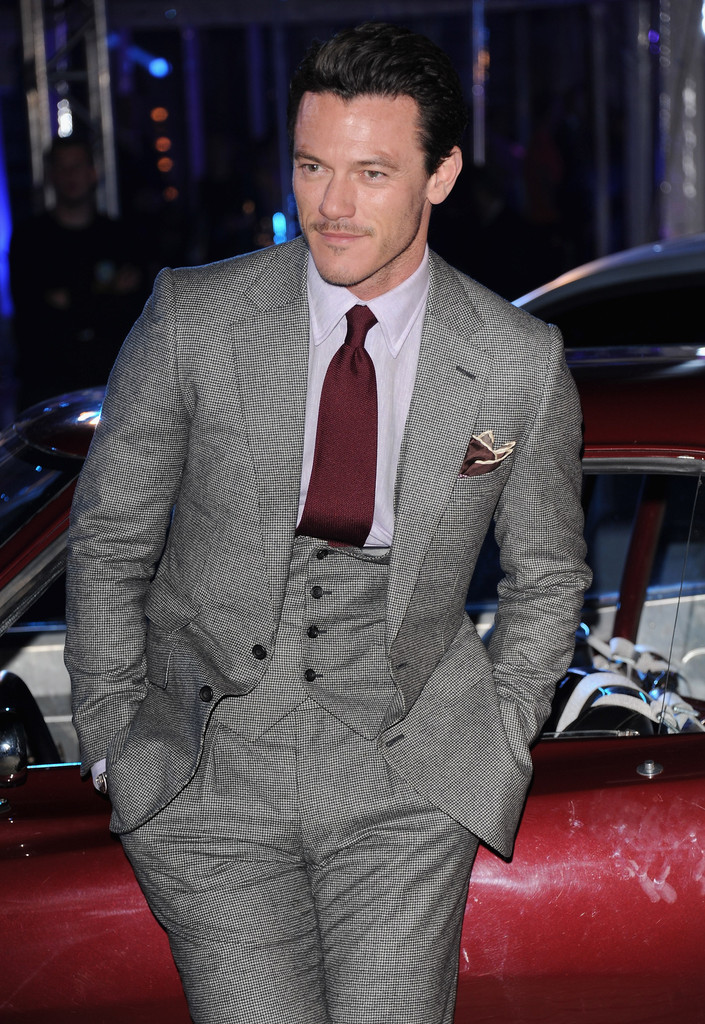 Luke Evans Photos Photos - Celebs Attend the 'Fast ...