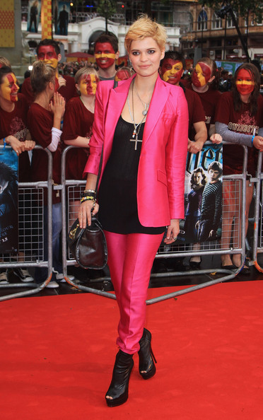 Pixie Geldof arrives for the World Premiere of Harry Potter And The Half Blood Prince at Empire Leicester Square on July 7, 2009 in London, England.