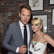 Chris Pratt and Anna Faris Celebrate 'Guardians'