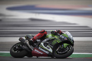 Tom Sykes of Great Britain and KAWASAKI RACING TEAM WorldSBK rounds the bend during the WorldSBK Riviera di Rimini - Free Practice on July 6, 2018 in Misano Adriatico, Italy.