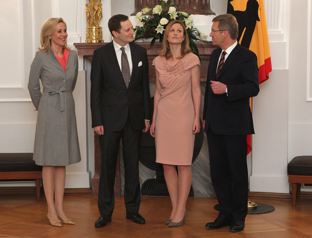 Bettina Wulff Wulff Hosts Dinner To Mark 300 Years Since Birth Of Frederick The Great