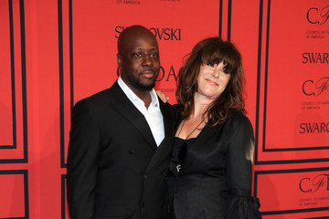 Wyclef Jean Arrivals at the CFDA Fashion Awards
