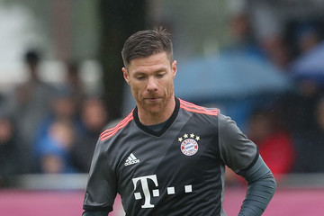 Xabi Alonso FC Bayern Muenchen Unveils New Away Jersey
