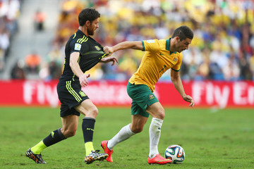 Xabi Alonso Australia v Spain: Group B - 2014 FIFA World Cup Brazil