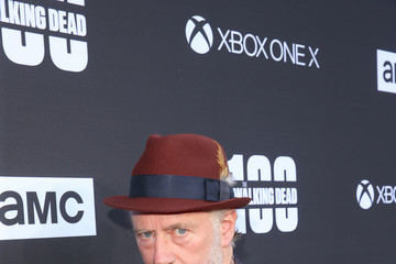 Xander Berkeley 'The Walking Dead' 100th Premiere and Party