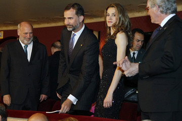 Xavier Trias Spanish Royals Attend the Opera in Barcelona
