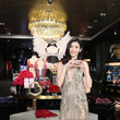 Xi Meng Yao Grand Opening of Victoria's Secret Shanghai Flagship Store