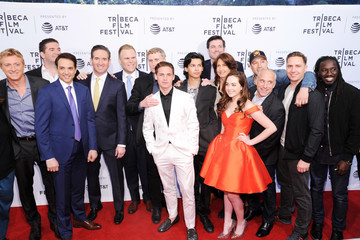 Xolo Mariduena NYC Tribeca Red Carpet + Screening Of The YouTube Red Series 'Cobra Kai'