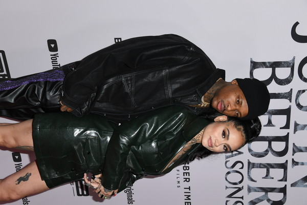 "Premiere Of YouTube Originals' ""Justin Bieber: Seasons"" - Arrivals [youtube originals,textile,black hair,leather,arrivals,justin bieber: seasons,kehlani,california,los angeles,regency bruin theatre,yg,premiere,premiere,regency bruin theatre,kehlani,premiere,photograph,television,image,youtube]"