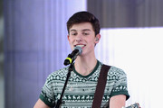 Shawn Mendes performs at Y100's Jingle Ball Village, Y100's Jingle Ball 2014 official pre-show at BB&T Center on December 21, 2014 in Miami, FL.
