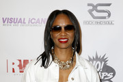 Mc Lyte attends the YO! MTV Raps 30th Anniversary Live Event at Barclays Center on June 1, 2018 in New York City.