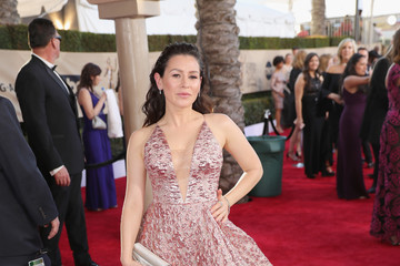 Yael Stone 23rd Annual Screen Actors Guild Awards - Red Carpet