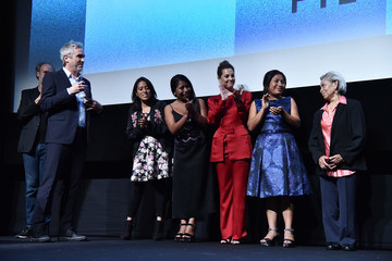 Yalitza Aparicio 56th New York Film Festival - 'Roma' - Intro