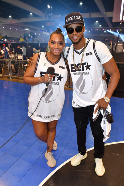 2019 BET Experience - BETX Celebrity Basketball Game Sponsored By Sprite [product,basketball,footwear,eyewear,competition event,sportswear,vacation,recreation,team sport,leisure,yandy smith,experience,sprite,l-r,los angeles convention center,betx,bet,betx celebrity basketball,celebrity basketball game,game]