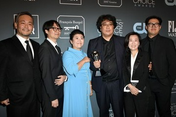 Yang Jinmo 25th Annual Critics' Choice Awards - Press Room
