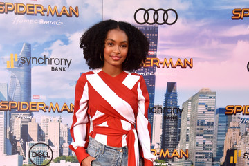 Yara Shahidi Premiere of Columbia Pictures' 'Spider-Man: Homecoming' - Arrivals