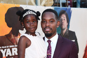 Myla-Rae Huntchinson-Dunwell and Aml Ameen attend the Premiere of Yardie. Yardie is released in UK cinemas on 31st August at BFI Southbank on August 21, 2018 in London, England.