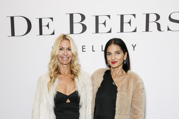 Yasmin Mills De Beers Moments In Light Private Dinner - Arrivals - LFW SS16
