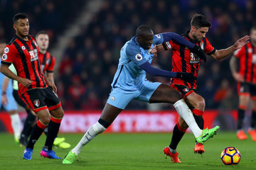 Yaya Toure AFC Bournemouth v Manchester City - Premier League