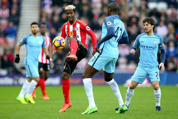 Yaya Toure Sunderland v Manchester City - Premier League