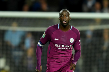 Yaya Toure West Bromwich Albion v Manchester City - Carabao Cup Third Round
