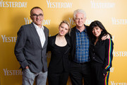 (L-R) Director Danny Boyle, Kate McKinnon, screenwriter Richard Curtis and Emma Freud attend special screening of Yesterday on June 21, 2019 in Gorleston-on-Sea, England.