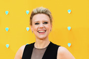 """Kate McKinnon attends the UK Premiere of """"Yesterday"""" at Odeon Luxe Leicester Square on June 18, 2019 in London, England."""