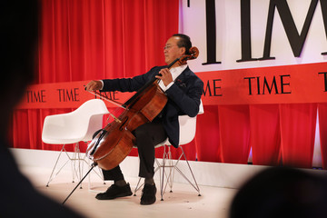 Yo-Yo Ma Time Magazine Honors Influential People With Its Time 100 Event