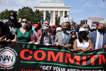 Yolanda Renee King Arndrea Waters King March On Washington To Protest Police Brutality