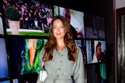 Emily DiDonato celebrates the launch of YouTube.com/Fashion on September 09, 2019 in New York City.
