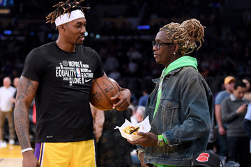 Young Thug Memphis Grizzlies v Los Angeles Lakers