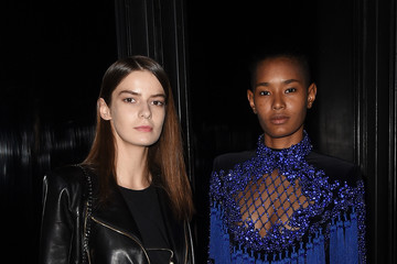 Ysaunny Brito Balmain And Olivier Rousteing Celebrate After The Met Gala - Inside
