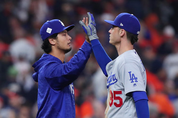 Yu Darvish World Series - Los Angeles Dodgers v Houston Astros - Game Four
