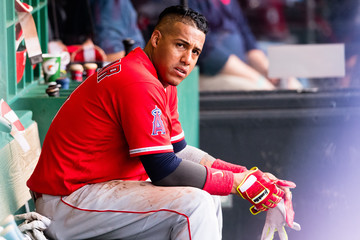 Yunel Escobar Los Angeles Angels of Anaheim v Cleveland Indians