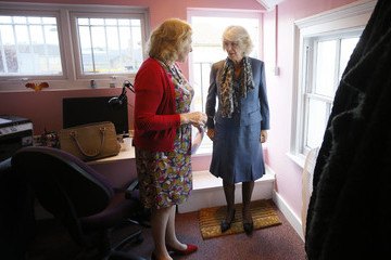 Yvonne Traynor Camilla, Duchess of Cornwall Visits The Rape and Sexual Abuse Support Centre in Croydon