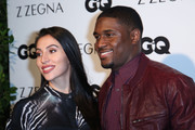 (L-R) Lilit Avagyan and Athlete Reggie Bush arrive at Z Zegna & GQ Celebrate The New Z Zegna Collection Hosted By Nick Jonas at Philymack Studios on February 5, 2015 in West Hollywood, California.