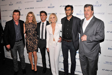 Zac Efron Dennis Quaid 'At Any Price' Screening in NYC