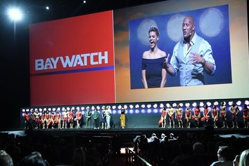 Zac Efron Dwayne Johnson CinemaCon 2017 - Paramount Pictures Presentation Highlighting Its 2017 Summer and Beyond
