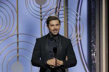 Zac Efron 75th Annual Golden Globe Awards - Show