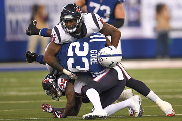 Zach Cunningham Houston Texans v Indianapolis Colts