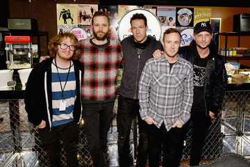 Zach Filkins Drew Brown 60th Annual GRAMMY Awards - The MusiCares Talent Greenroom Presented By Conagra Brands