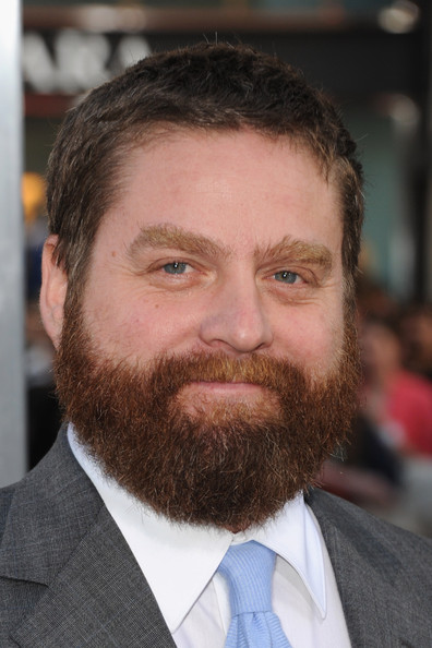 Zach Galifianakis Actor Zach Galifianakis arrives at the premiere of    Zach Galifianakis Hangover