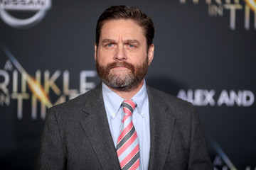Zach Galifianakis Premiere Of Disney's 'A Wrinkle In Time' - Arrivals