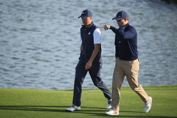 Zach Johnson 2018 Ryder Cup - Afternoon Foursome Matches