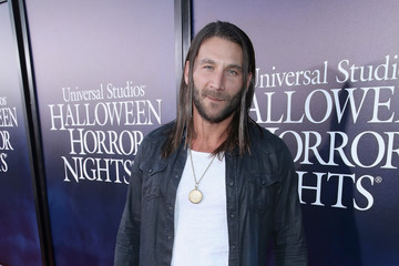Zach McGowan Halloween Horror Nights 2018 At Universal Studios Hollywood