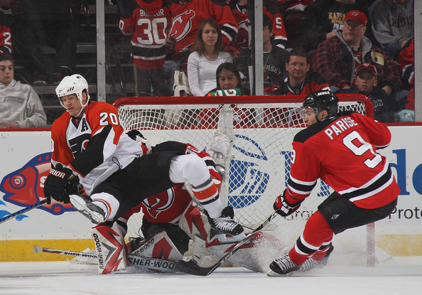 Zach Parise and Chris Pronger Photos»Photostream · Pictures · Philadelphia  Flyers v New Jersey Devils - Game Two 1e9a763a5