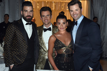 Zachary Quinto 25th Annual Elton John AIDS Foundation's Oscar Viewing Party - Inside