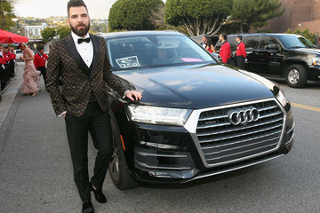 Zachary Quinto Audi Arrives At The 25th Annual Elton John AIDS Foundation's Academy Awards Viewing Party