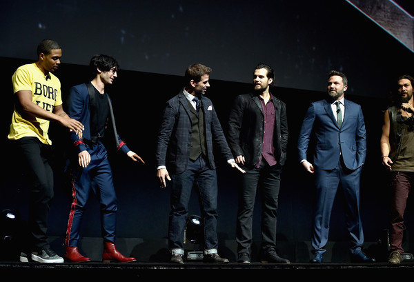 CinemaCon 2017 - Warner Bros. Pictures Invites You to 'The Big Picture' [the big picture,an exclusive presentation of our upcoming slate,performance,event,performing arts,stage,talent show,music artist,zack snyder,actors,actors,l-r,cinemacon,warner bros. pictures,cinemacon 2017,convention]